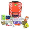 Forestry Care Emergency First Aid Kit in Red Backpack