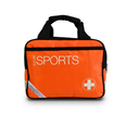 Standard Sports Kit in Medium Orange Sports Bag