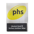 PHS Alcohol Hand and Surface Sanitising Individual Wipe